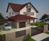 Rekonštrukcia a modernizácia fasády a záhrady rodinného domu, Zlaté Moravce