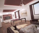 Dizajn rekonštrukcie interiéru rodinného domu, Zlaté Moravce
