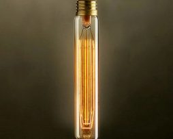 EDISON žiarovka MEDIUM TUBE E27 40W2 254x203 - EDISON žiarovka - MEDIUM TUBE - E27, 40W, 120lm