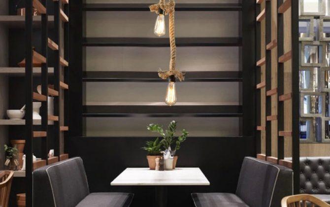 Toto historické stropné svietidlo je vhodné pre milovníkov štýlového bývania2 670x420 - Závesný lanový luster v historickom vzhľade s priemerom 25mm, 1m, dve pätice