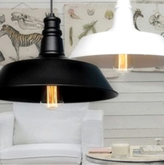 Moderné závesné svietidlo s čiernej farbe na žiarovky typu E27 je svietidlo určené na strop v luxusnom modernom vzhľade2 - Moderné závesné svietidlo v bielej farbe