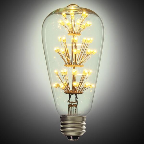 Na rozdiel od iných typov dekoračných žiaroviek nevyžaruje UV žiarenie čo je bezpečnejšie pre dlhodobé použitie a je menej atraktívna pre hmyz2 - FIREWORKS žiarovka - TEARDROP - E27, 3W, 200lm