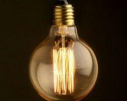 EDISON žiarovka - SHINES - E27, 60W, 200lm