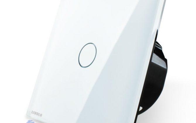Elegantný dotykový vypínač č.1 v bielom prevedení1 670x420 - Elegantný dotykový vypínač č.1 v bielom prevedení s možnosťou diaľkového ovládania