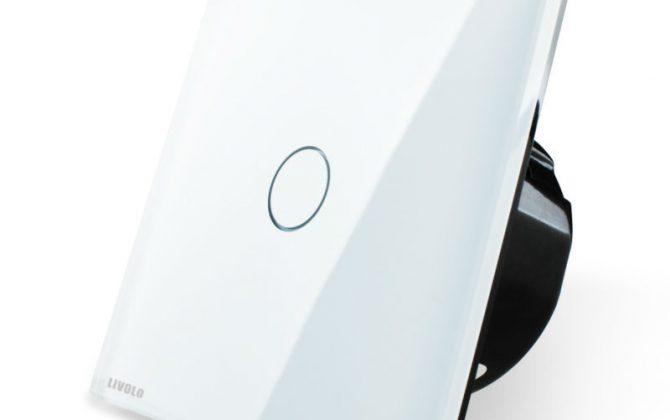 Elegantný dotykový vypínač č.1 v bielom prevedení2 670x420 - Elegantný dotykový vypínač č.1 v bielom prevedení s možnosťou diaľkového ovládania
