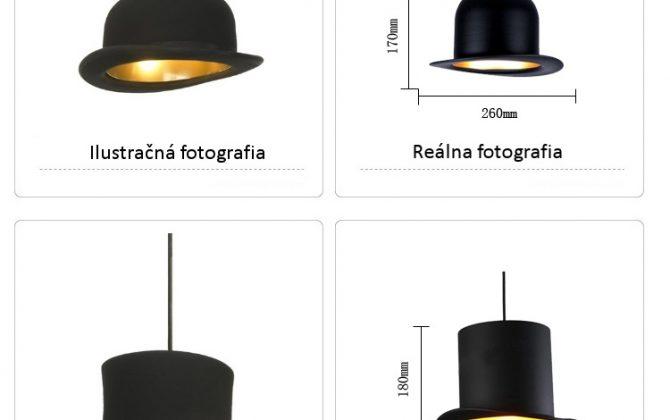 Kreatívne závesné svietidlo Jeeves v zlatej farbe na žiarovky typu E27 je svietidlo určené na strop v kreatívnom vzhľade historického klobúka13 670x420 - Kreatívne závesné svietidlo Wooster v zlatej farbe