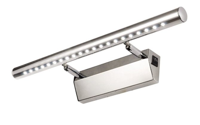 Moderné LED svietidlo z nášho sortimentu jee určené na nasvietenie izby od odrazovej plochy stropu zrkadla alebo steny3 670x420 - Moderné LED 7W nástenné svietidlo
