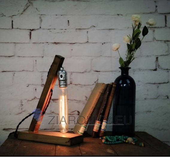 Táto stolová lampa je vyrobená ručne z kvalitného dreva11 - Historické stolové svietidlo v starodávnom štýle vyrobené z dreva