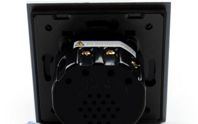 Tento typ elegantného dotykového vypínača je možné použiť ako priamu náhradu za klasický vypínač vo Vašej domácnosti1 670x420 - Elegantný dotykový vypínač č.1 v bielom prevedení s možnosťou diaľkového ovládania