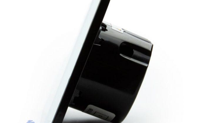 Už nemusíte mechanický stláčať čidlá gombíky alebo iné diely. Doprajte svojmu domovu eleganciu a luxus pomocou tohto jednoduchého a efektného dotykového vypínača1 670x420 - Elegantný dotykový vypínač č.1 v bielom prevedení s možnosťou diaľkového ovládania