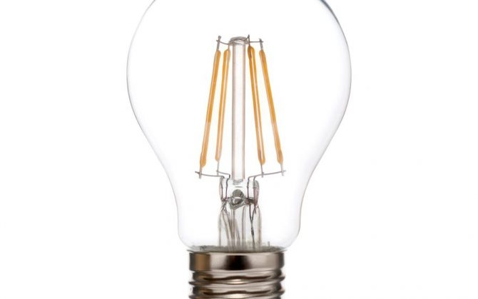 FILAMENT žiarovka CLASSIC E27 Teplá biela 4W 450lm2 670x420 - FILAMENT žiarovka - CLASSIC - E27, Denná biela, 6W, 550lm, V-TAC
