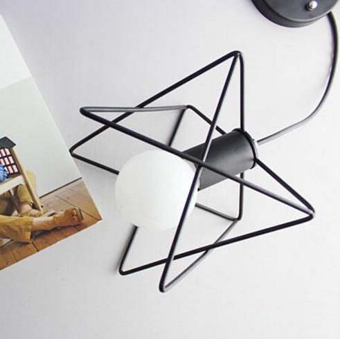 Moderné kreatívne svietidlo v čiernej farbe na žiarovky typu E27 je svietidlo určené na strop v luxusnom modernom a zároveň kreatívnom vzhľade4 - Moderné kreatívne svietidlo v čiernej farbe