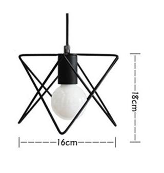 Moderné kreatívne svietidlo v čiernej farbe2 - Moderné kreatívne svietidlo v čiernej farbe