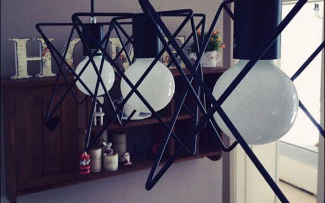 Toto kreatívne svietidlo sa nesie v rustikálnom a zároveň kreatívnom duchu a zaručí obdiv vo Vašej domácnosti2 670x420 - Moderné kreatívne svietidlo v čiernej farbe