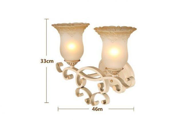 Luxusné dvojité nástenné svietidlo Krčah s ručnou maľbou 72 670x420 - Luxusné dvojité nástenné svietidlo Krčah s ručnou maľbou