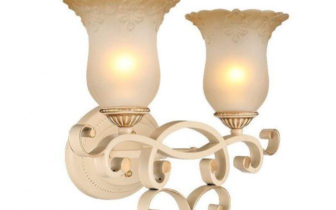 Luxusné dvojité nástenné svietidlo Krčah s ručnou maľbou 912 670x420 - Luxusné dvojité nástenné svietidlo Krčah s ručnou maľbou