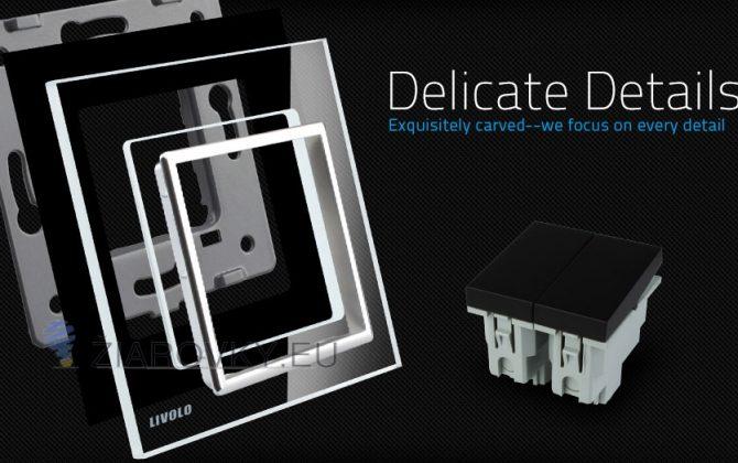 Výrobky tejto značky získali mnoho ocenení po celom svete a splňujú požiadavky pre predaj v EÚ11 670x420 - Luxusný lustrový vypínač č.5 v čiernom prevedení