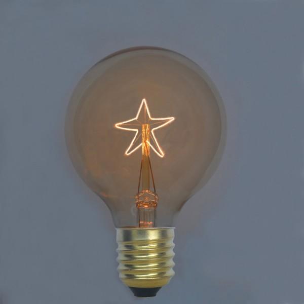 EDISON žiarovka STAR SHINES je žiarovka z retro kolekcie EDISON - EDISON žiarovka - STAR SHINES - E27, 40W, 130lm