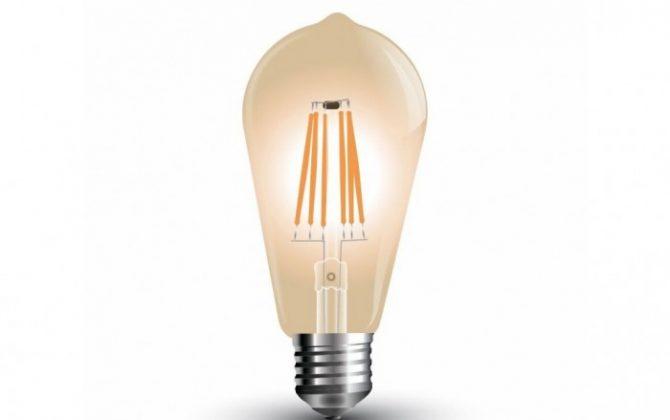 FILAMENT žiarovka TEARDROP E27 Teplá biela 4W 350lm V TAC 670x420 - FILAMENT žiarovka - TEARDROP - E27, Teplá biela, 4W, 350lm, V-TAC