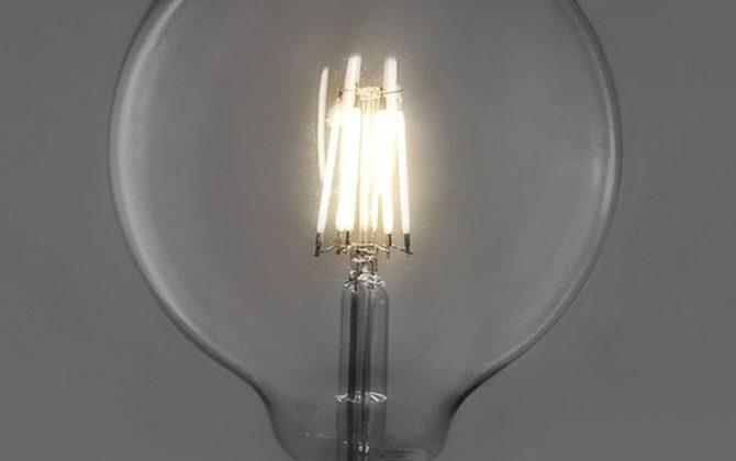 Kolekcia FILAMENT nevyžaduje chladenie a celý sa zmestí do pätice E27. Tvarované sklo žiarovky má vzhľad tradičných EDISON žiaroviek. 670x420 - FILAMENT žiarovka - SPHERE - E27, Teplá biela, 6W, 550lm, V-TAC