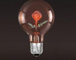 Dekoračná žiarovka - SHINES - Rose