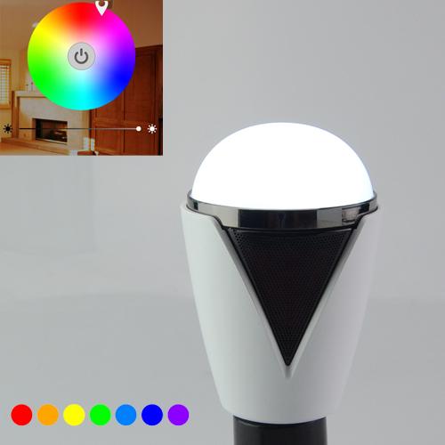 Inteligentná LED žiarovka E27 s bluetooth reproduktorom1 - Inteligentná LED žiarovka E27 s bluetooth reproduktorom