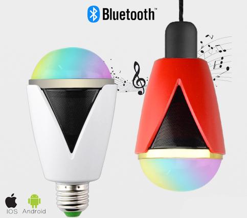 Inteligentná LED žiarovka E27 s bluetooth reproduktorom2 - Inteligentná LED žiarovka E27 s bluetooth reproduktorom