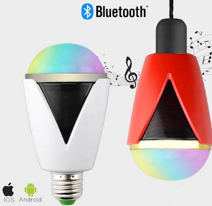 Inteligentná LED žiarovka E27 s bluetooth reproduktorom21 - Inteligentná LED žiarovka E27 s bluetooth reproduktorom