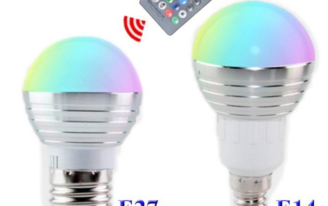LED RGB žiarovka na diaľkové ovládanie 16 funkcií 5W1 670x420 - LED RGB žiarovka na diaľkové ovládanie, 16 funkcií, 5W