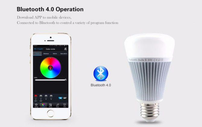 RGB LED žiarovka s bezdrôtovým reproduktorom 8W 550lm29 670x420 - RGB LED žiarovka s efektami, 8W, 550lm