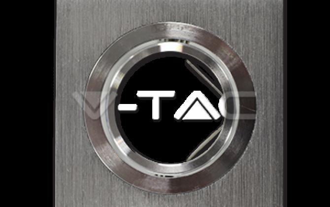 Rámik hranatý výklopný brúsený hliník V TAC 670x420 - Rámik hranatý výklopný - brúsený hliník, V-TAC