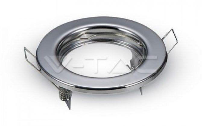 Rámik okrúhly nevýklopný lesklý V TAC 670x420 - Rámik okrúhly nevýklopný lesklý, V-TAC