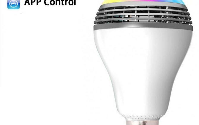 Smart LED žiarovka s výkonným reproduktorom a efektami 1 670x420 - Smart LED žiarovka s výkonným reproduktorom a efektami