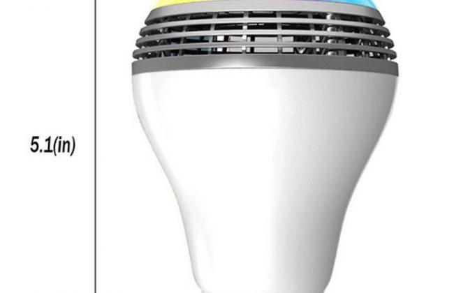 Smart LED žiarovka s výkonným reproduktorom a efektami 3 670x420 - Smart LED žiarovka s výkonným reproduktorom a efektami
