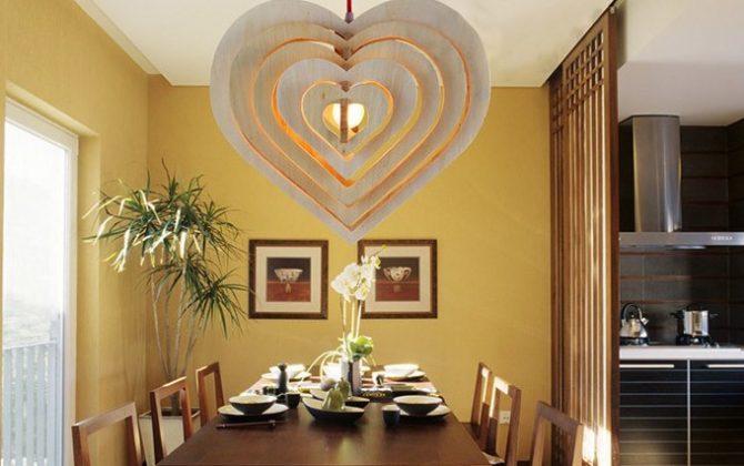 Závesné kreatívne drevené svietidlo HEART11 670x420 - Závesné kreatívne drevené svietidlo - HEART
