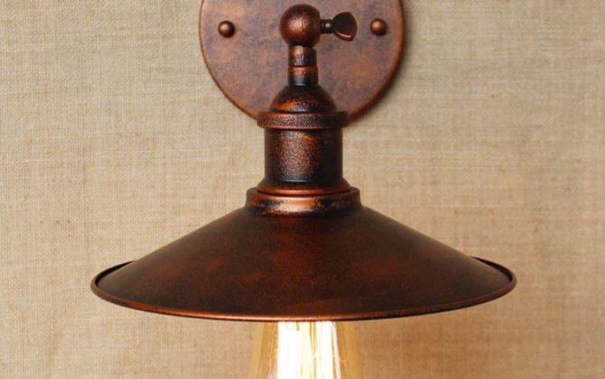 Historické nástenné svietidlo s tienidlom v medenej farbe4 670x420 - Historické nástenné svietidlo s tienidlom v medenej farbe