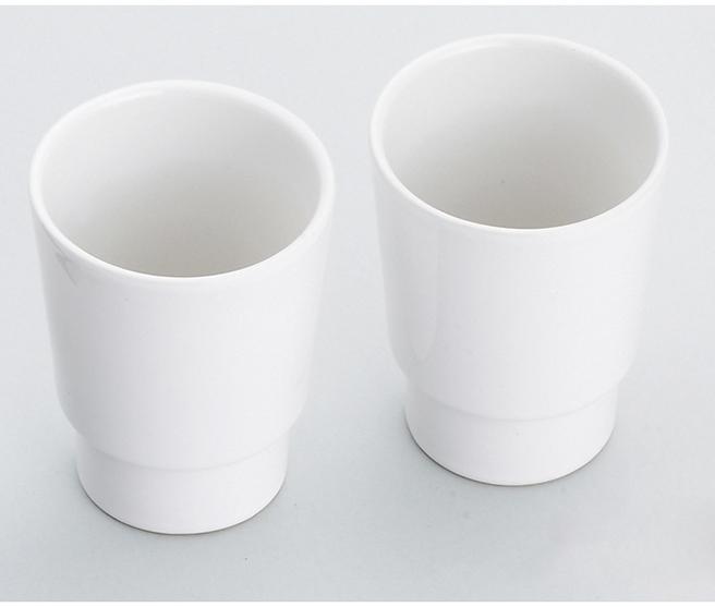 Mosadzný dvojitý retro držiak na poháriky