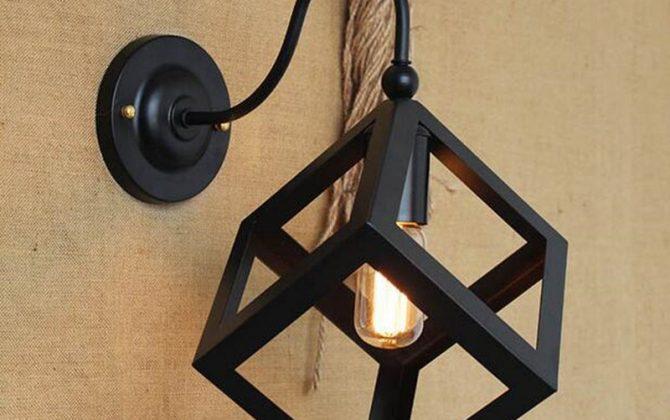Kreatívne retro nástenné svietidlo v štýle kocky3 670x420 - Kreatívne retro nástenné svietidlo v štýle kocky