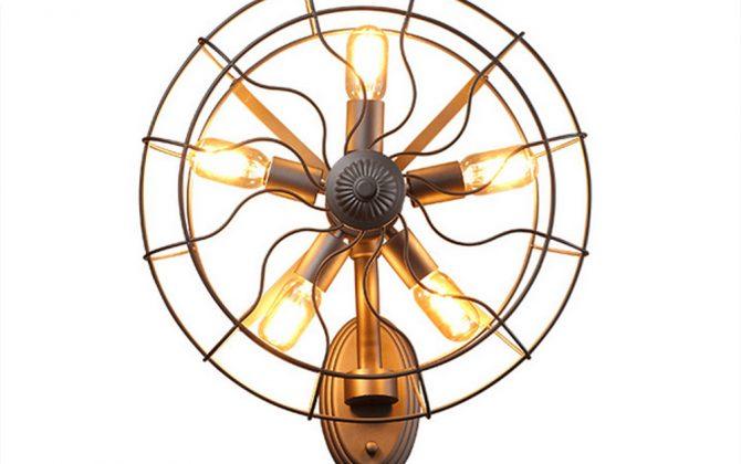Kreatívne retro nástenné svietidlo v štýle ventilátora1 670x420 - Kreatívne retro nástenné svietidlo v štýle ventilátora
