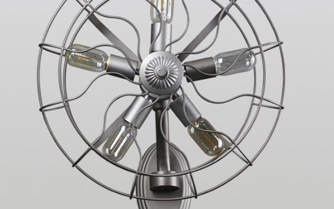 Kreatívne retro nástenné svietidlo v štýle ventilátora2 670x420 - Kreatívne retro nástenné svietidlo v štýle ventilátora