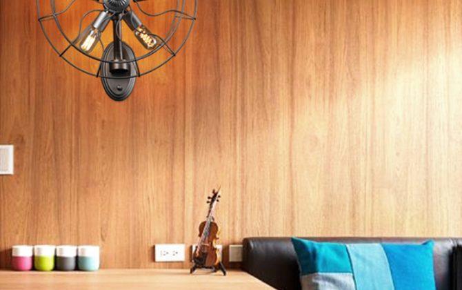 Kreatívne retro nástenné svietidlo v štýle ventilátora6 670x420 - Kreatívne retro nástenné svietidlo v štýle ventilátora