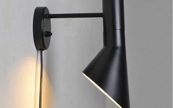 Luxusné nástenné svietidlo Nordic v čiernej farbe kombinuje kvalitný kov s luxusným dizajnom4 670x420 - Luxusné nástenné svietidlo Nordic v čiernej farbe