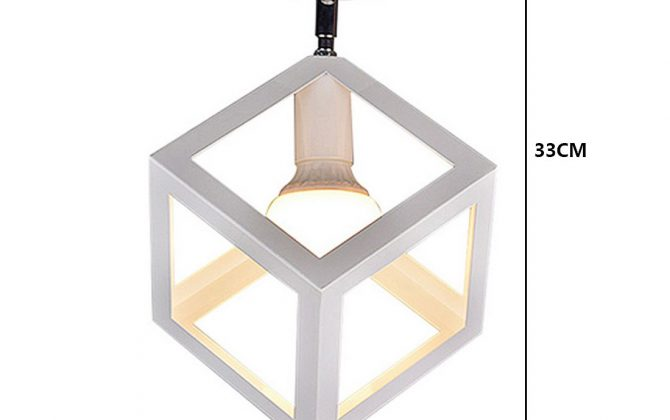 Moderné stropné svietidlo Kocka v bielej farbe 2 670x420 - Moderné stropné svietidlo Kocka v bielej farbe