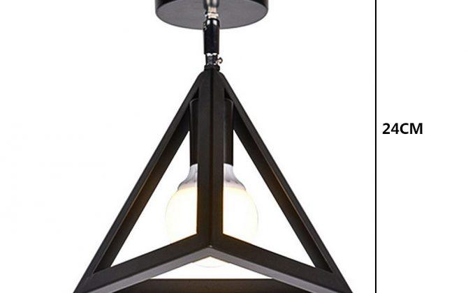 Moderné stropné svietidlo Trojuholník v čiernej farbe 2 670x420 - Moderné stropné svietidlo Trojuholník v čiernej farbe