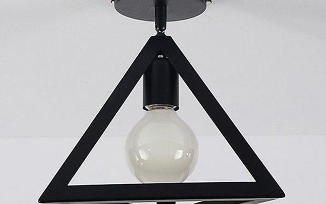 Moderné stropné svietidlo Trojuholník v čiernej farbe 3 670x420 - Moderné stropné svietidlo Trojuholník v čiernej farbe