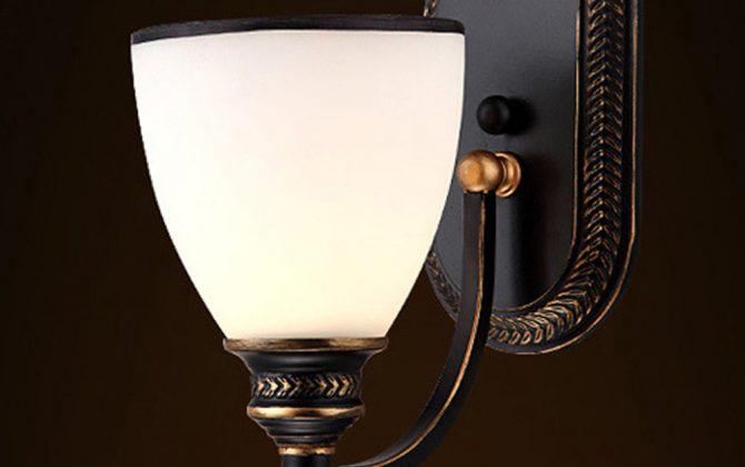 Moderné nástenné svietidlo v retro dizajne so skleneným tienidlom4 670x420 - Moderné nástenné svietidlo v retro dizajne so skleneným tienidlom