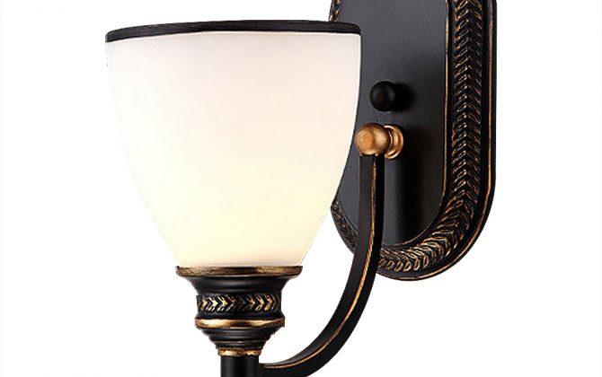 Moderné nástenné svietidlo v retro dizajne so skleneným tienidlom5 670x420 - Moderné nástenné svietidlo v retro dizajne so skleneným tienidlom