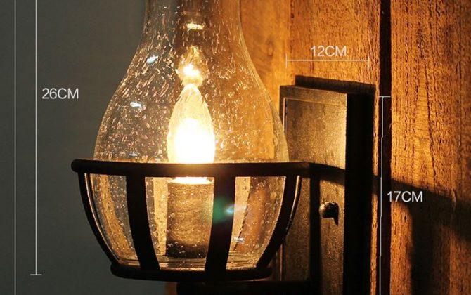 Starodávne nástenné svietidlo v tvare sviečky1 670x420 - Starodávne nástenné svietidlo v tvare sviečky