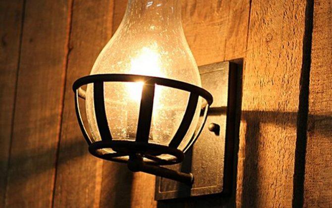 Starodávne nástenné svietidlo v tvare sviečky2 670x420 - Starodávne nástenné svietidlo v tvare sviečky