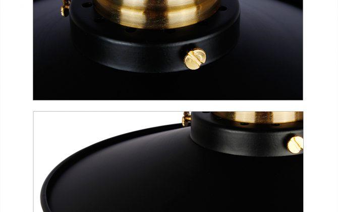 Stropné svietidlo retro s čiernym tienidlom6 670x420 - Stropné svietidlo retro s čiernym tienidlom